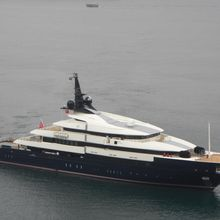 Seven Seas Yacht Aerial Overview