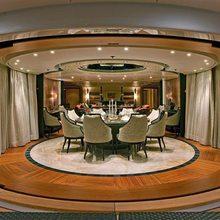 Ventum Maris Yacht Dining Area