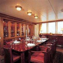 Elsa Yacht Dining Room
