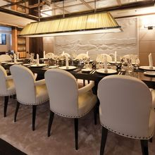 Vision Yacht Dining Area
