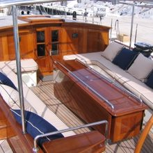 Seabiscuit Yacht Deck Seating