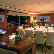 Ligaya Yacht Dining Salon