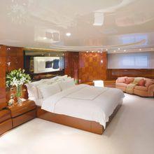 Bad Girl Yacht Master Stateroom