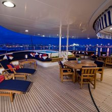 Leander G Yacht Upper Deck Aft