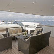 Nina Lu Yacht Exterior Seating