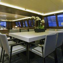 Infinity Yacht Dining Salon