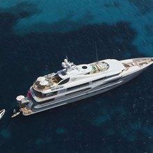 Ventum Maris Yacht Aerial View