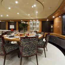 Lady MM Yacht Dining Salon