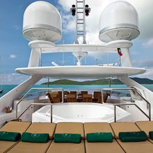 The Lady K Yacht Sundeck