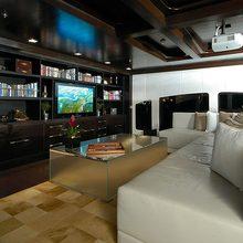 Slo Mo Shun Yacht Bridge Deck Saloon TV