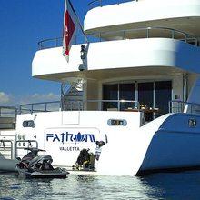 Slo Mo Shun Yacht Transom