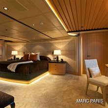 Ventum Maris Yacht Master Stateroom from Aft