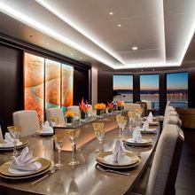 Mogambo Yacht Dining Salon