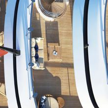 Ice Angel Yacht Detail - Decks