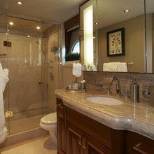 Nina Lu Yacht Private Bathroom