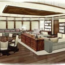 Seven Seas Yacht Artist's Impression - Private Salon