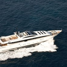Fan Too Yacht Aerial
