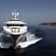 Ventum Maris Yacht Running Shot - Front View