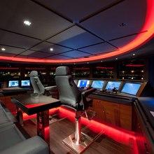 Huntress Yacht Wheelhouse Lights
