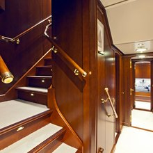 Sea Eagle Yacht Stairs