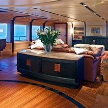 Ventum Maris Yacht Main Salon from Aft