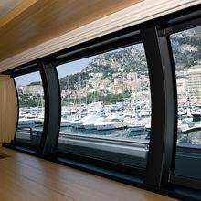 Exuma Yacht Salon Windows