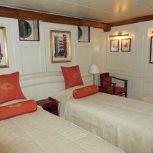 Elsa Yacht Twin Stateroom