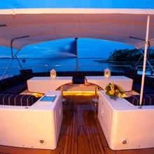 Rena Yacht Upper Sundeck