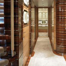 Maxima Star Yacht Hallway