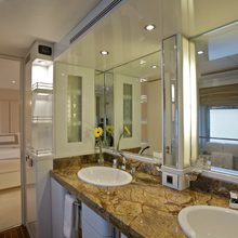 Achilles Yacht Master Stateroom Bath