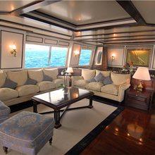 Providence Yacht Main Salon