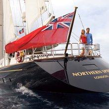 Norfolk Star Yacht Stern