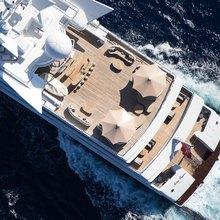 H Yacht Aerial of Sundeck