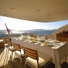 Slo Mo Shun Yacht Bridge Dining