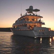Grand Mariana II Yacht Sunset