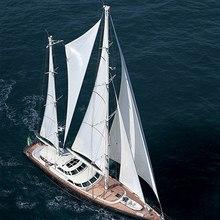 Norfolk Star Yacht Aerial View