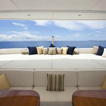 Bella Yacht Exterior Seating