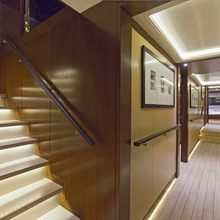 Infinity Yacht Hallway
