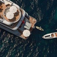 Ventum Maris Yacht Overhead View