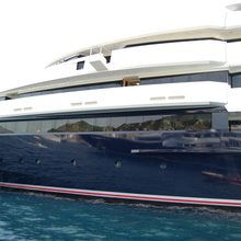 Seven Seas Yacht Side View