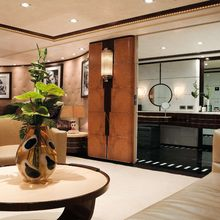 Caoz 14 Yacht Salon & Bathroom