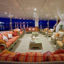 Leander G Yacht Main Deck Aft