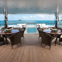 Majestic Yacht Main Deck Aft