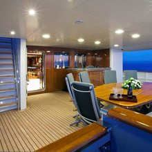 Sea Eagle Yacht Main Aft Deck