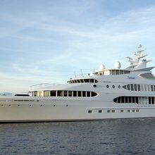 Samar Yacht Side View