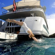 Harle Yacht Swim Platform