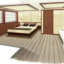 Seven Seas Yacht Artist's Impression - Guest Stateroom