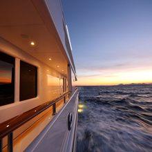 Huntress Yacht Terrace - Sunset
