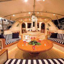 Norfolk Star Yacht Aft Deck - Overview