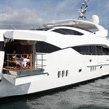 Regulus Yacht Balcony